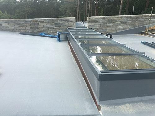 Fibre Glass Flat Roofing Company, UK Roofing Weybridge, Surrey