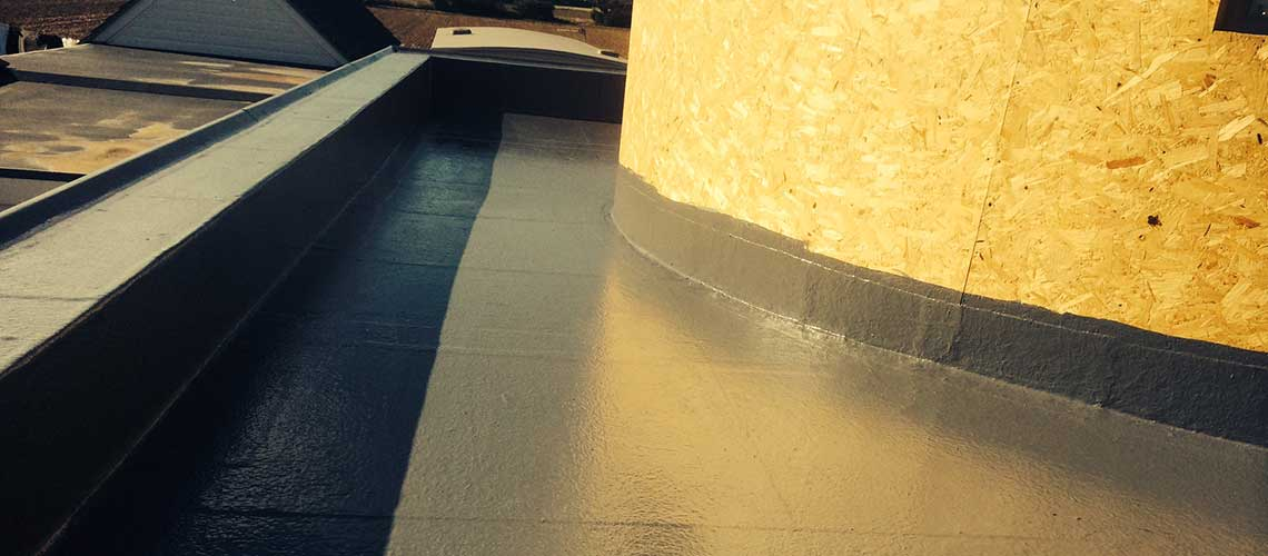 Fibre Glass Roofs, GRP Roofing, Flat Roof Repairs London